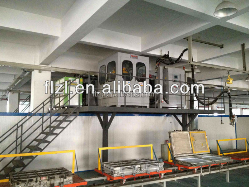 freezer production line mould equipment freezer/cooler foaming /injection/foaming equipment