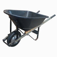 Industrial Heavy Duty Wheelbarrow with Poly Tray