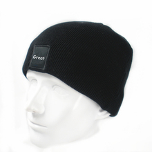 Hot Sale Cheap Mens Knitted Kids Winter 100% Acrylic Caps And Hats
