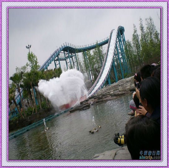 [Ali Brothers]Most Exciting Acquatic Equipment,Mini Log Flume amusement equipment