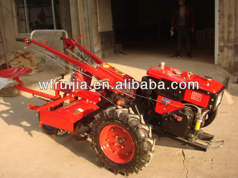Made In China Used Power Tiller Used Tractor Price 8-15hp ...