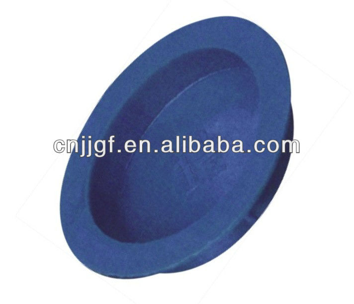 Wenzhou LDPE Plastic blue valve threaded fitting hole end cap
