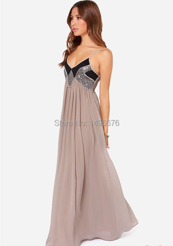 0485bd94403 Get Quotations · formal dresses 2015 New Stock A-Line Floor -Length  Spaghetti strap Sleeveless Backless Formal