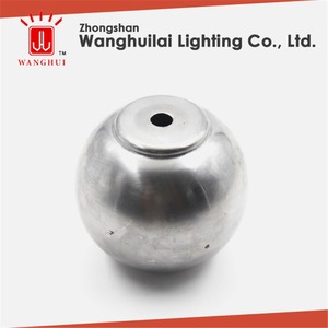 Cheaper high quality ornamental wrought stainless steel metal hollow ball
