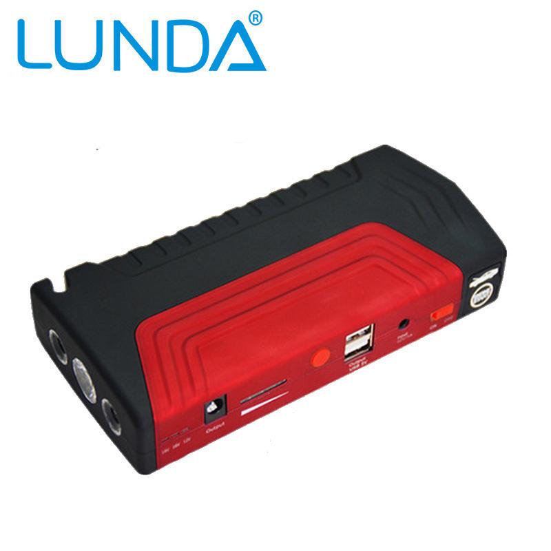 50800 мАч LUNDA автомобиля стартер источник емкость аккумулятор источник зарядное устройство двигатель транспортного средства усилитель аварийного зарядное устройство