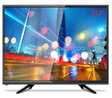 mini television 21.5 inch led tv flat screen television DC 12V TV support DVD build in /small size led tv 21.5''