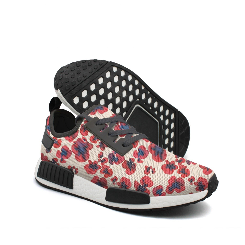 Ouxioaz Womens Skateboarding Shoes Sushi Illustration Pattern Skating Shoes