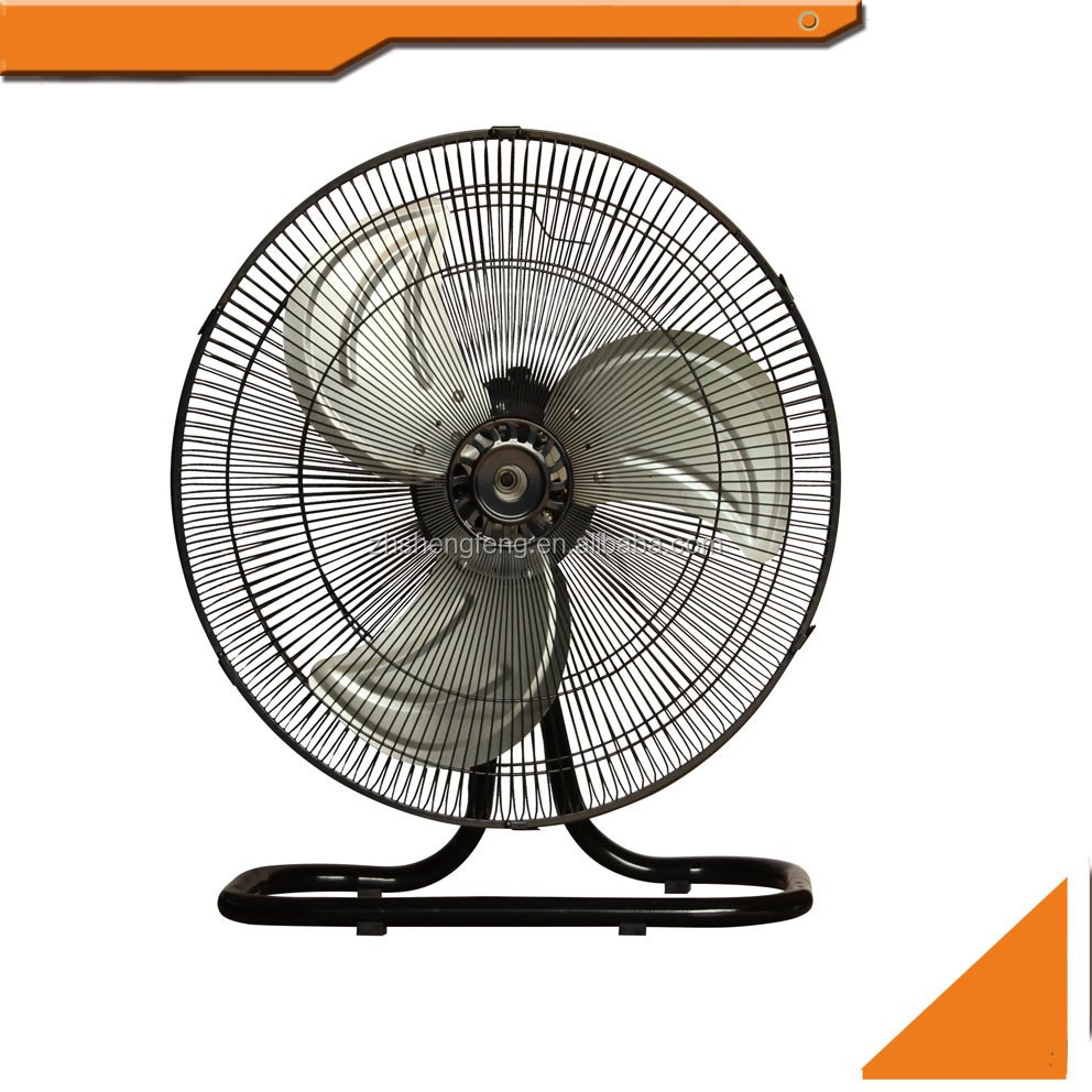 "16"" 18"" 20"" inch oscillating metal industrial electric classic floor mounted fan"