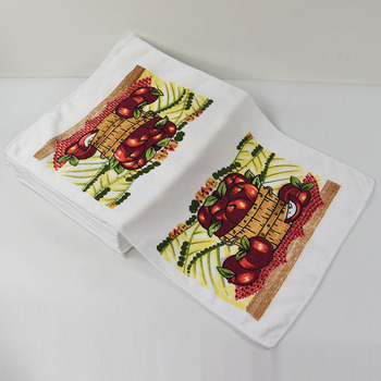 Colorful Fruit Pattern Print Terry Cloth Kitchen Tea Towel Buy