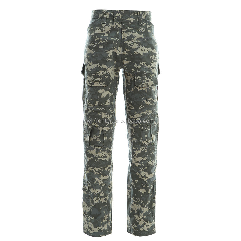 Wholesale Tactical Airsoft Combat Uniform Waterproof camouflage clothing men's tactical pants
