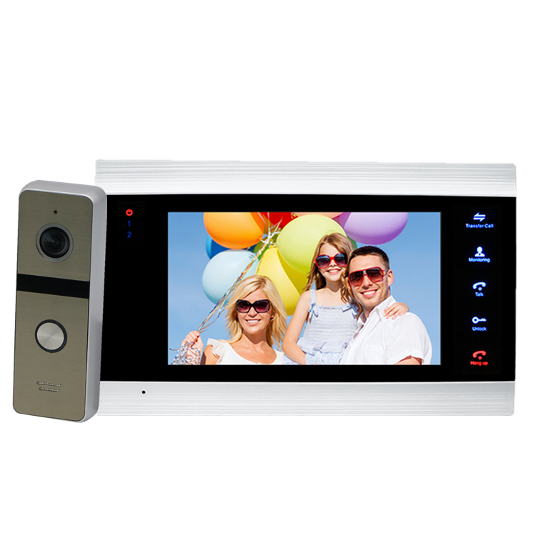 New arrived Waterproof anti-vandal video door phone for apartment with Message and Motion Detection Function