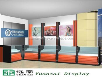 Modern Glass Showcase For Mobile Phone Shop Decoration Furniture ...