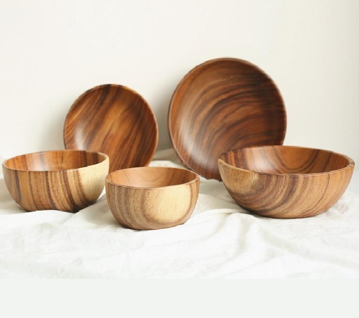 Acacia Wood Bowl Large Wooden Salad Bowl Wood Bowl Buy Acacia Wood