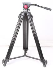 Black <span class=keywords><strong>Aluminium</strong></span> 1.8 M Hoge Beroep DV <span class=keywords><strong>Statief</strong></span> voor Video Camera