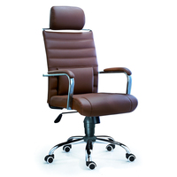 A060C Hangjian American Style office desk chair wholesale Leather Swivel office chairs factory price