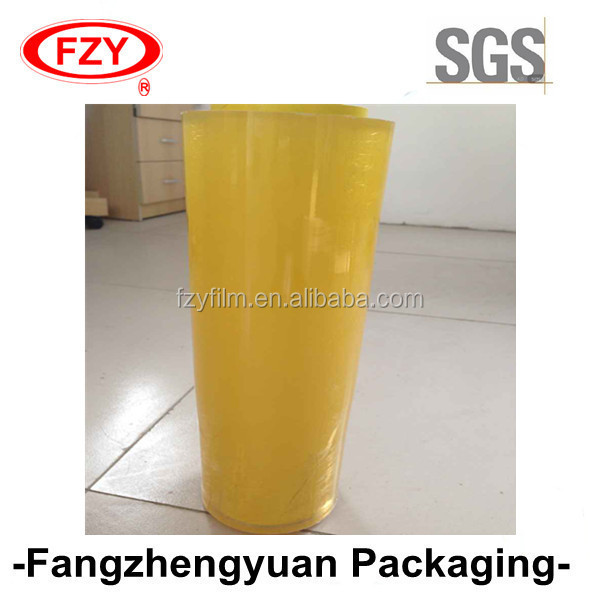 Chinese manufacturer PE food wrap stretch film for food packages
