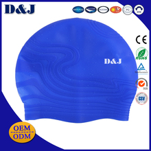 100% Waterproof Silicone Swimming Caps for Women (Ladies) and Men (Male) With average head sizes
