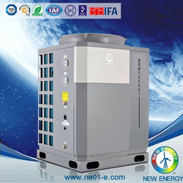 split heater multi system central air conditioner heat pump with fancoil
