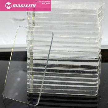 Flame Retardant Clear Acrylic Sheet Flexible White Black
