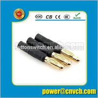 Rca jack connector/ Av pin jack/Rca pin jack DC00210 dc jack connector n type bulkhead jack connector