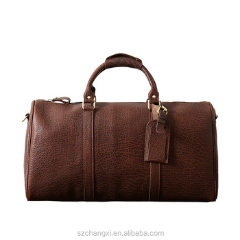 Duffle Genuine Leather Weekender Travel Duffel luggage Bag