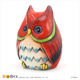 Money Saving Box Resin Christmas Owl Ornaments
