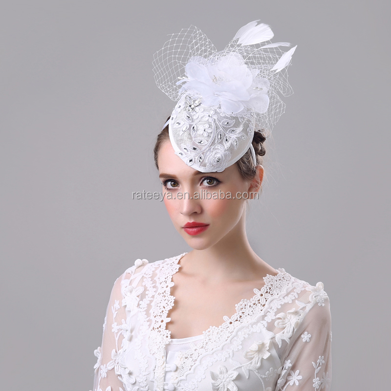 Factory Wholesale Professional Cheap High Quality Feather Fascinator for Ladies