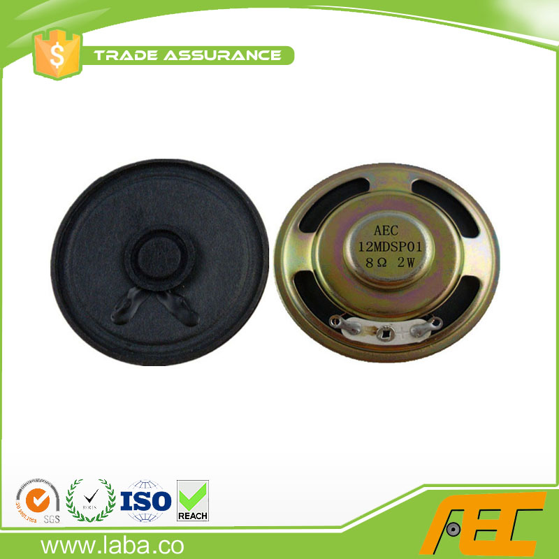 Free Sample Loudspeaker Parts 8ohm 2w 50mm Speaker Paper Cone