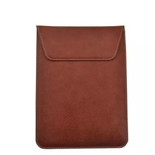 Universal leather tablet PC bag for iPad for samsung 18.5*25cm file holder style case