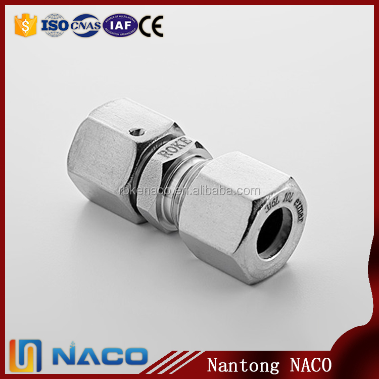 Top Level Competitive Straight Swivel Nut Fitting