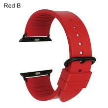 Сменный ремешок для часов MAIKES Fluoro, ремешок для Apple Watch, 42 мм, 44 мм, 40 мм, серия 4, 3, 2, 1, все модели iWatch Band 38 мм(Китай)