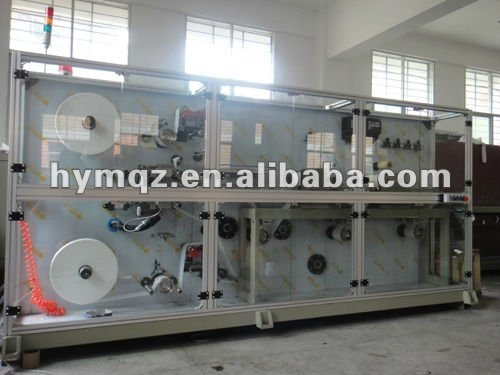 Ontharing wax strips machine