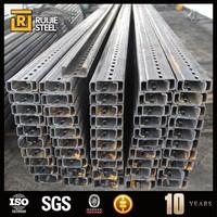 galvanized structural steel profiles,c channel standard sizes