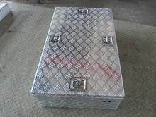 High quality aluminum truck case, metal tool box with lock