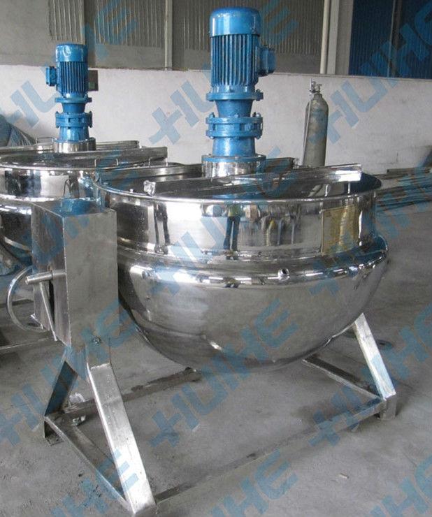 Industrial Tilting Steam Heating Jacketed Kettle