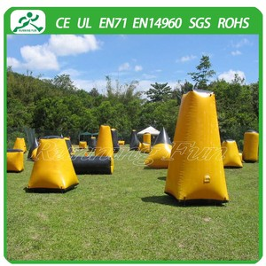 Inflatable paintball bunker/air paintball obstacle inflatable paintball bunkers cheap innovative inflatable paint ball bunker