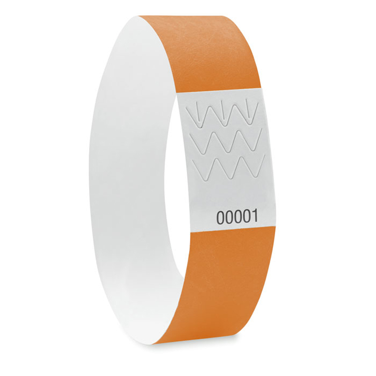 Id biodegradable woven wristband for events sports promotional item