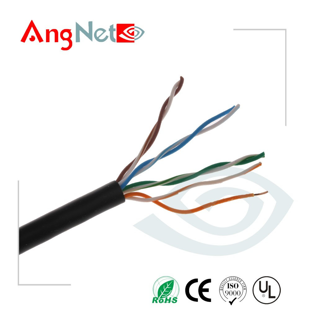 305m/roll CMR rise Lan Cat5.5e cable with UL certification