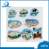 Erupe cities resin fridge magnet