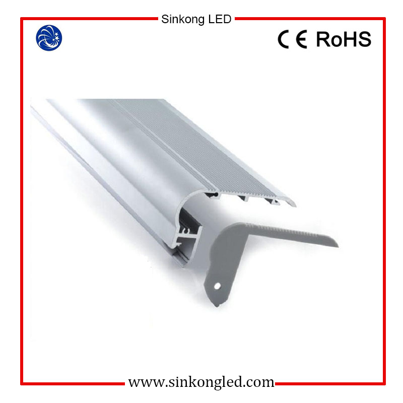 Aluminium profiles/channel for LED strip-Stair/Step Nosing series on cinema