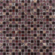 300x300 Square Easy-Clean Mixing Natural Stone Broken Glass Mosaic Tile