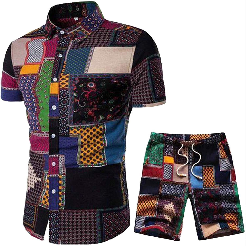WAWAYA Womens Short Sleeve T-Shirt and Pants Plus Size 2 PCS Elastic Waist c Tracksuits Outfit