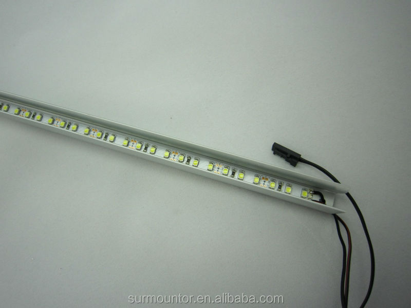 glass shelf lighting. Aluminum LED Channel G003 For Glass Shelf Light Lighting