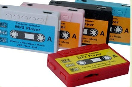 classical tape cassette mp3 Car MP3 Player Tape Cassette Adapter for SD/MMC Reader Portable