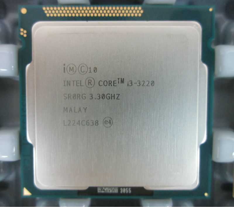 Intel Core i3-3220 (3 M Cache, 3.30 GHz)