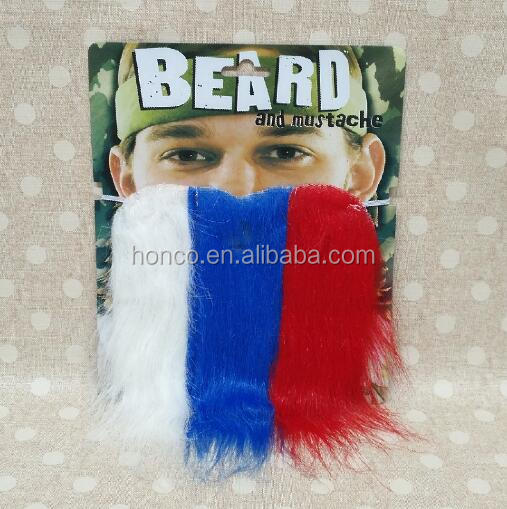Russia color artificial beard mustache