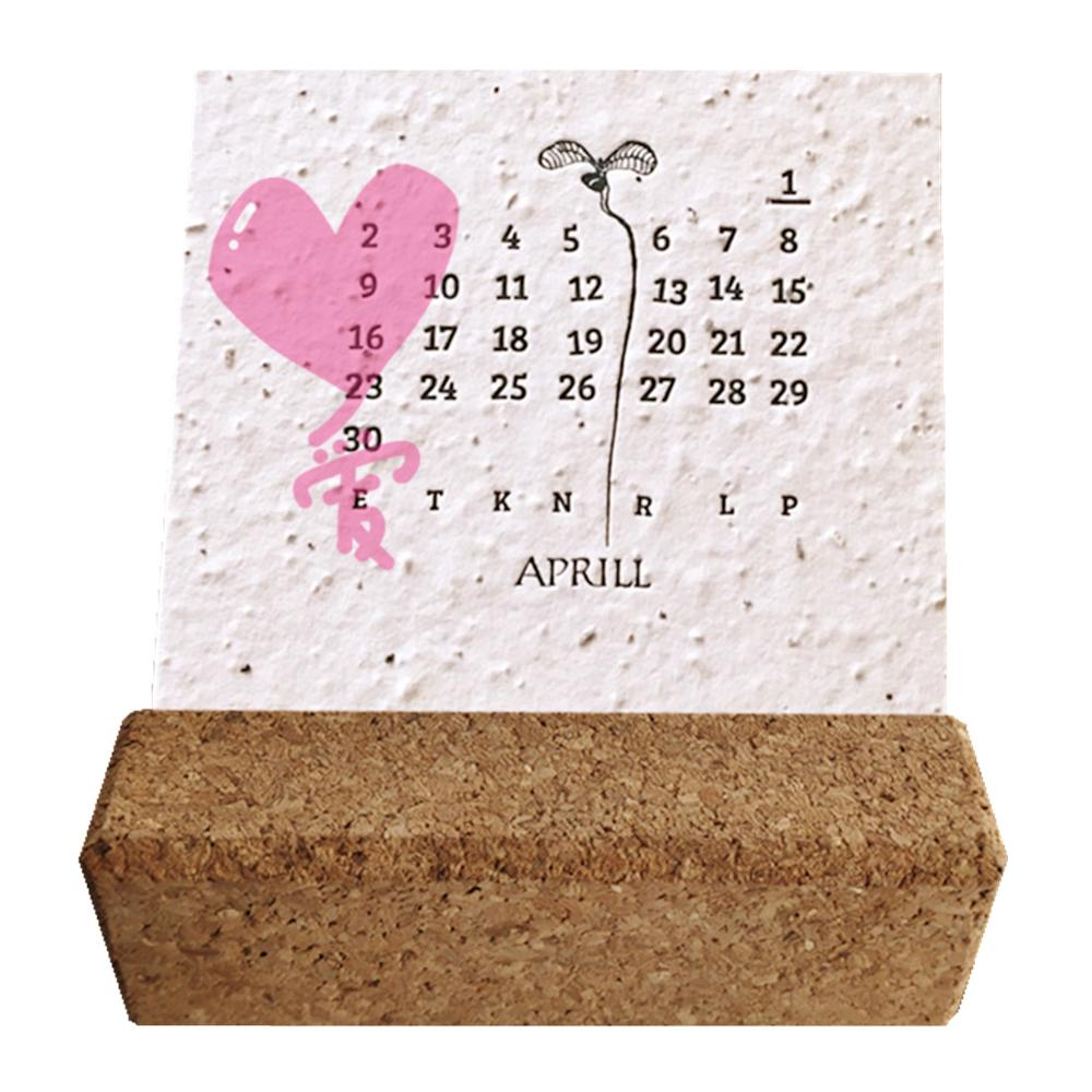 100% eco friendly plantable seed paper calendar, View seed paper, none  Product Details from Ningbo Qio Stationery & Gifts Manufactory on  Alibaba com