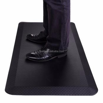 Standing Desk Mat Non-slip Comfort Kitchen Floor Mat Anti- Fatigue Foot Mat  Black - Buy Standing Desk Mat,Kitchen Floor Mat,Anti- Fatigue Foot Mat ...