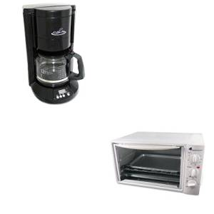 KITOGFCP333BOGFOG20 - Value Kit - Coffee Pro Multi-Function Toaster Oven with Multi-Use Pan (OGFOG20) and Coffee Pro Home/Office 12-Cup Coffee Maker (OGFCP333B)