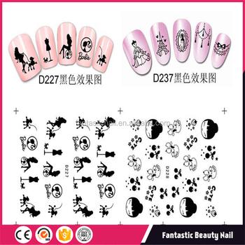 Nail Art Supplies 2018 Water Nail Art Stickervarious Nail